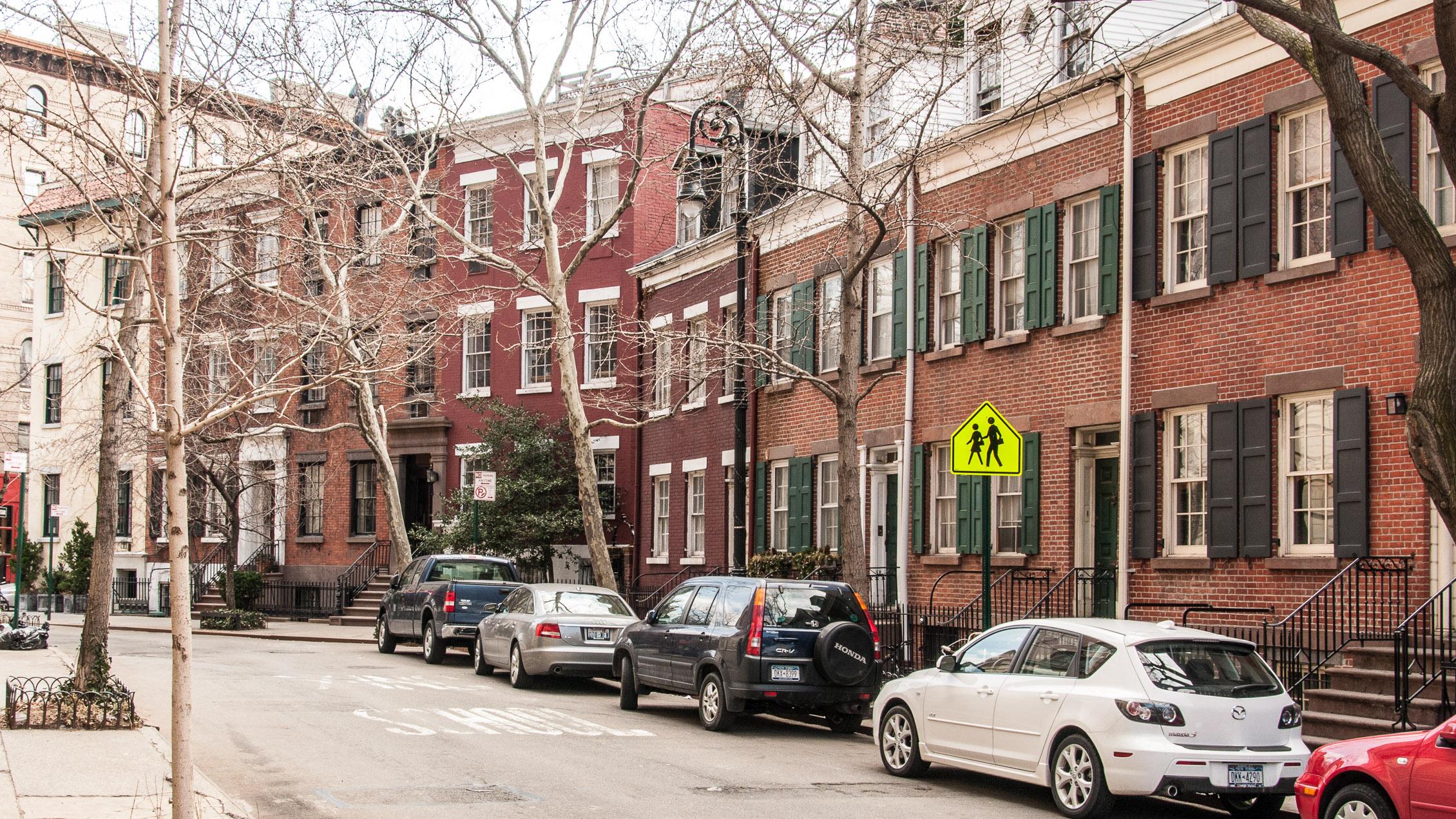 New York Manhattan Greenwich Village