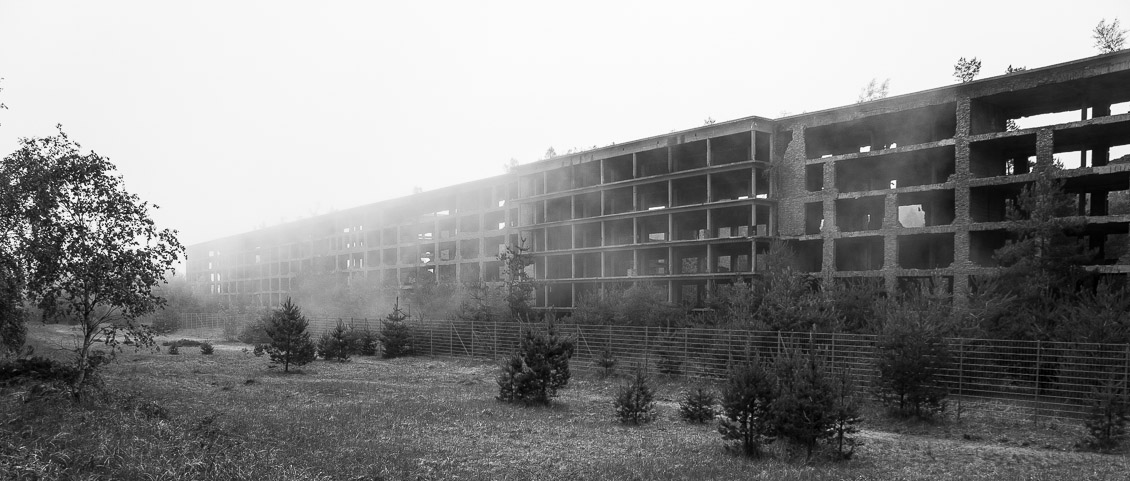 Rügen Nebel Prora