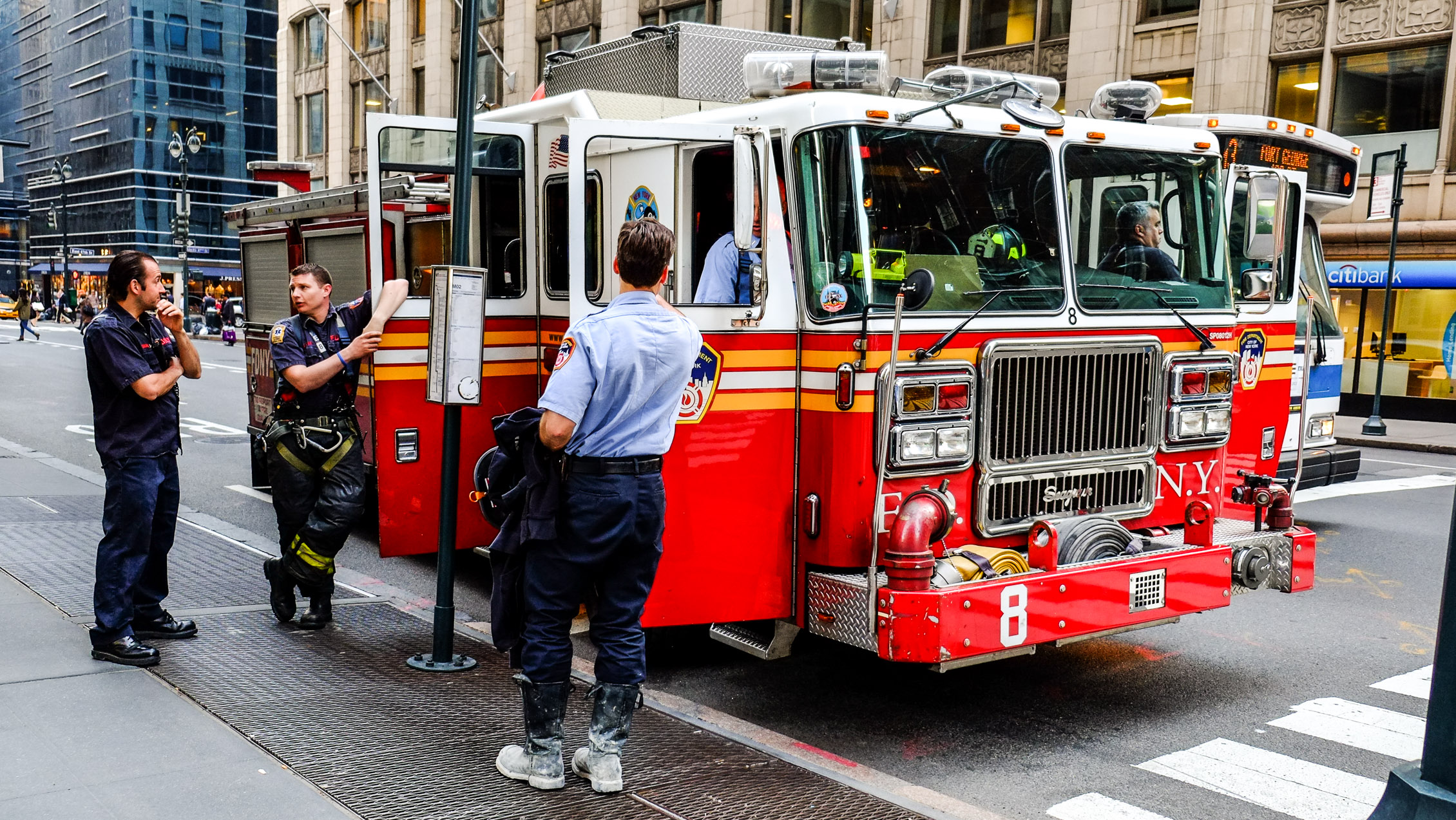 New York Firemen Feuerwehr