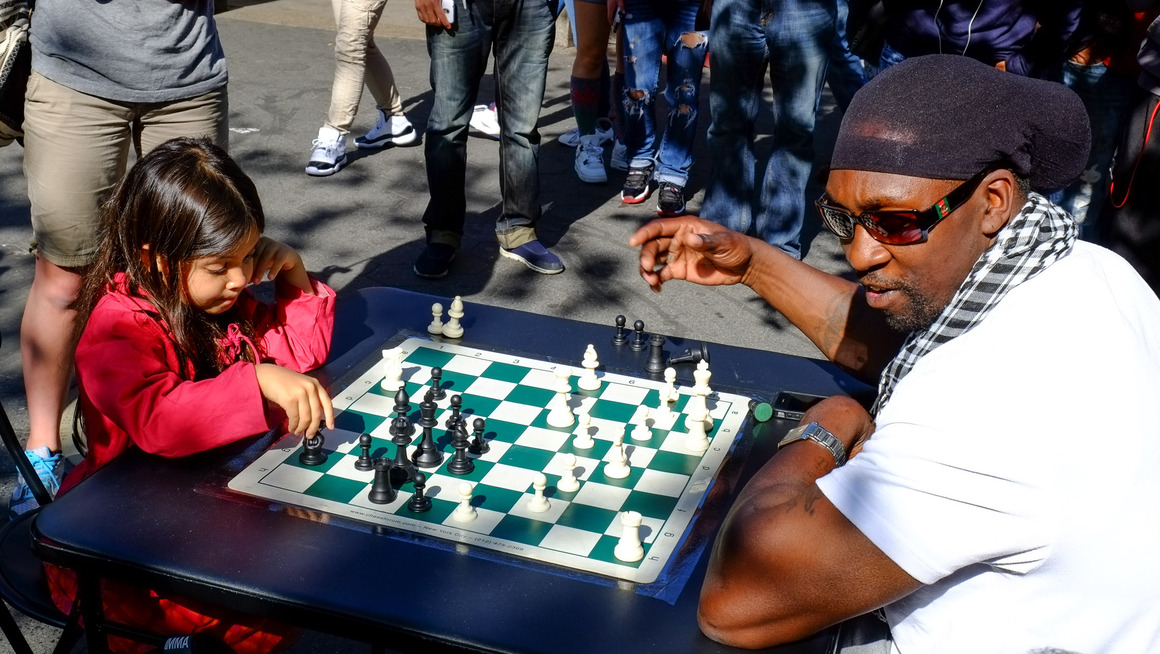 New York Chess Union Square Schach