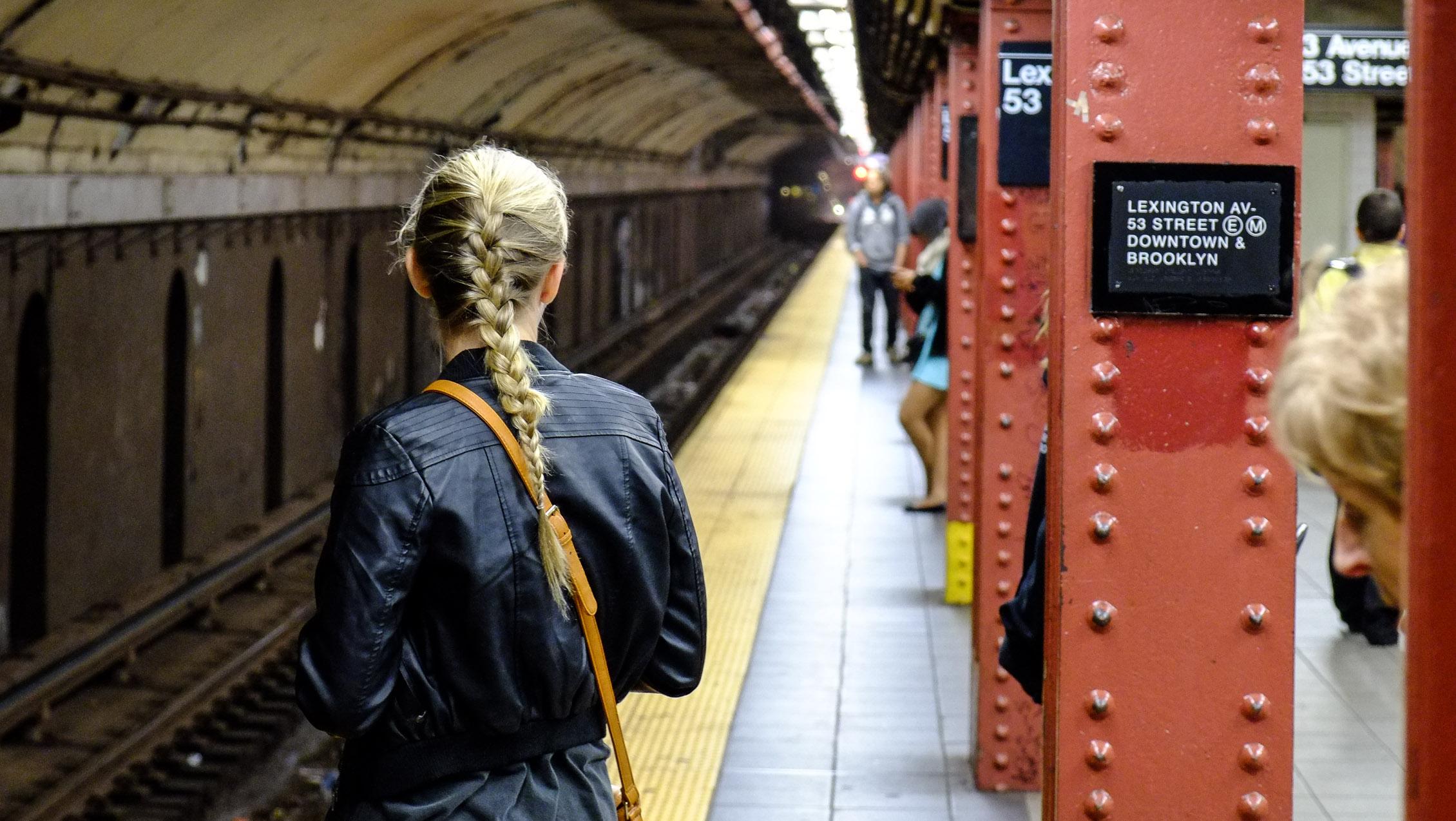 New York Manhattan Subway U-Bahn