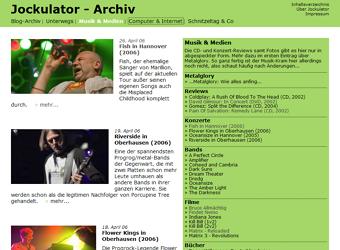 Jockulator ab 2007