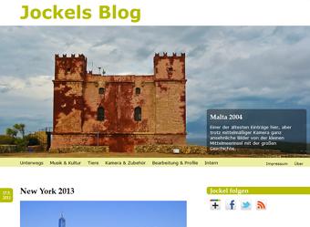 Jockels Blog ab 2009