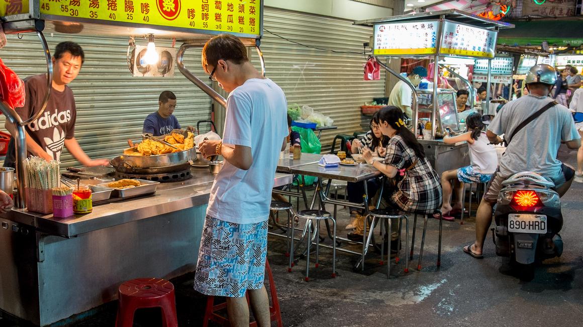 Taipeh Lin Jiang Nachtmarkt