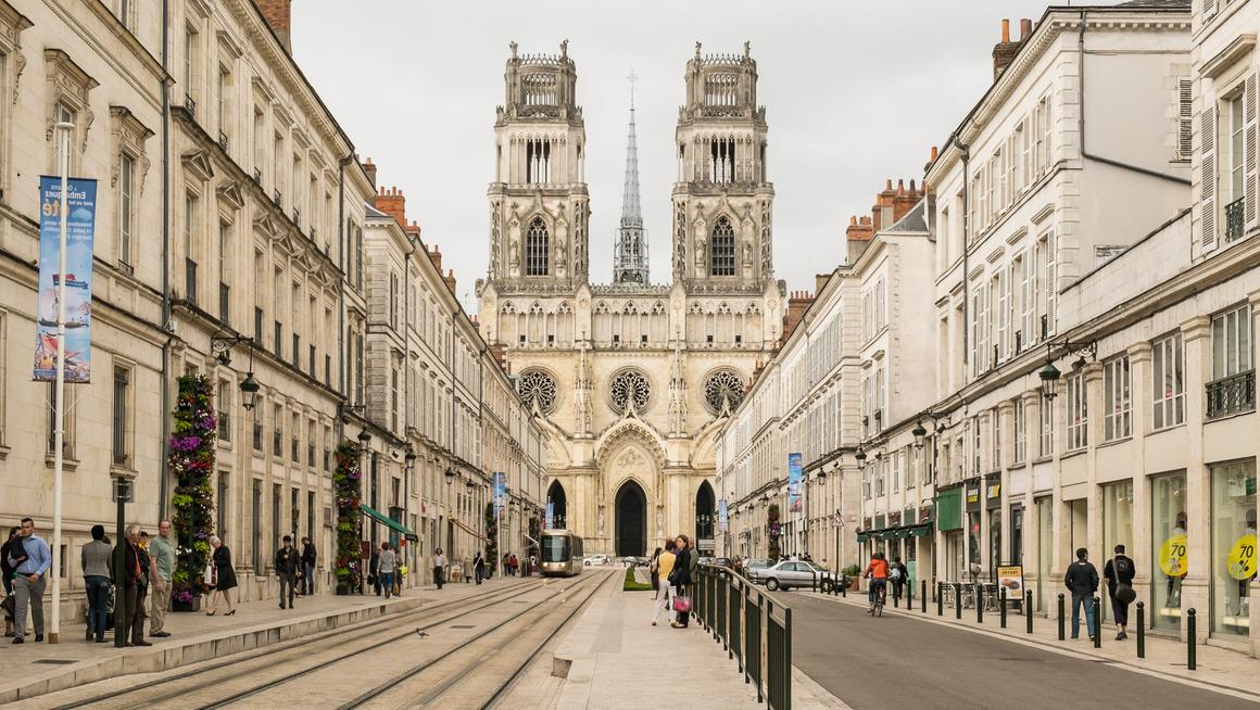 Frankreich Loire Orleans Cathédrale Sainte-Croix