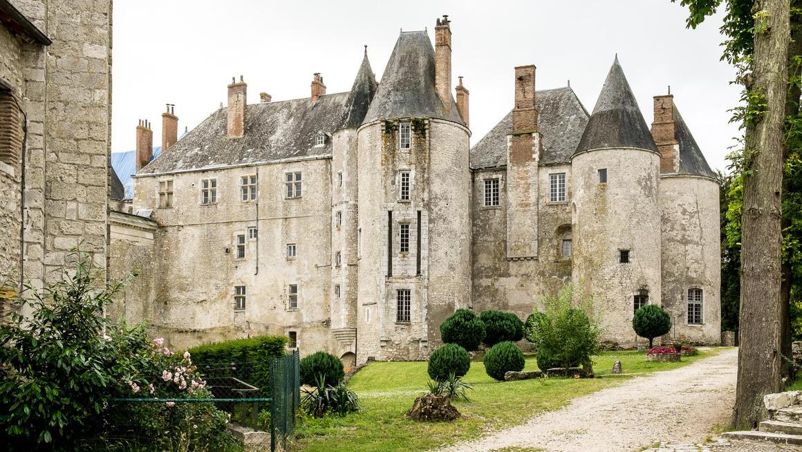 Frankreich Loire Château de Meung-sur-Loire