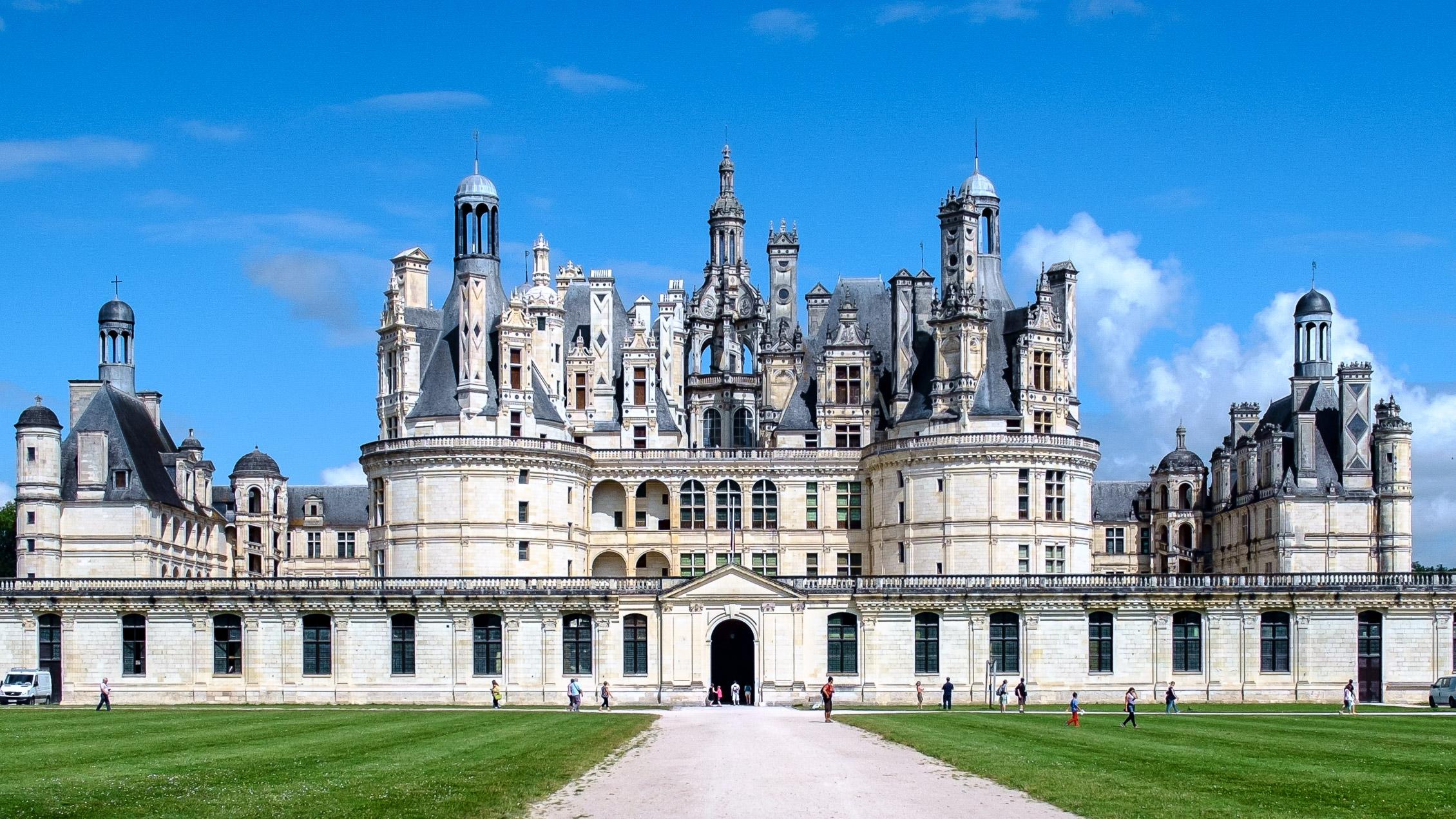 Frankreich Loire Château de Chambord