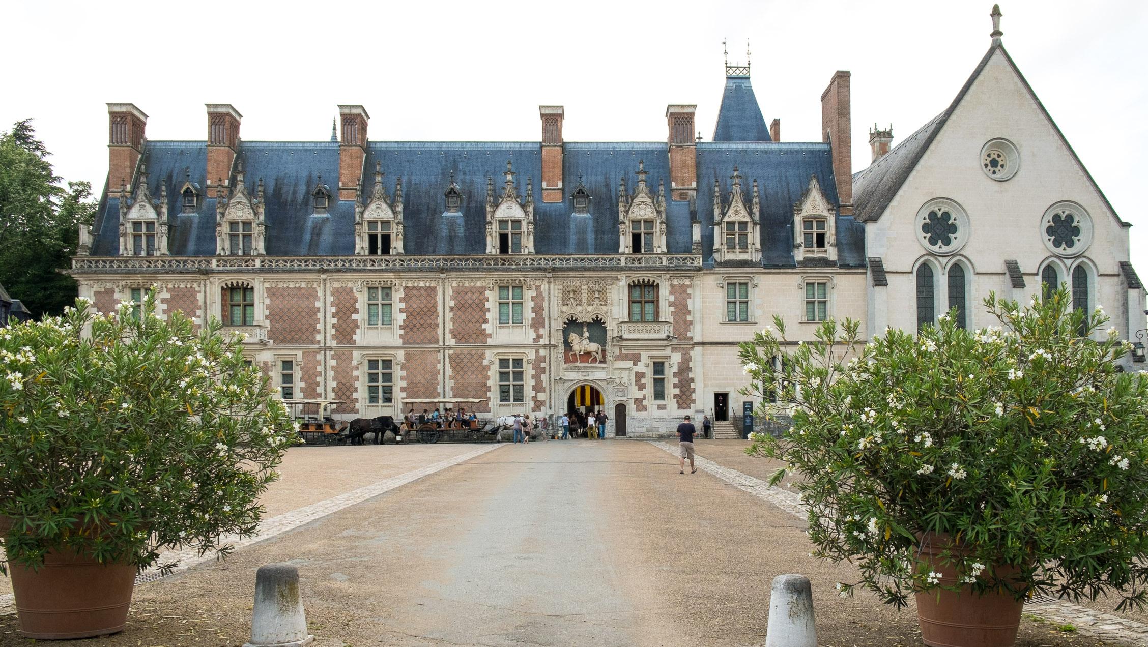 Frankreich Loire Château Royal de Blois