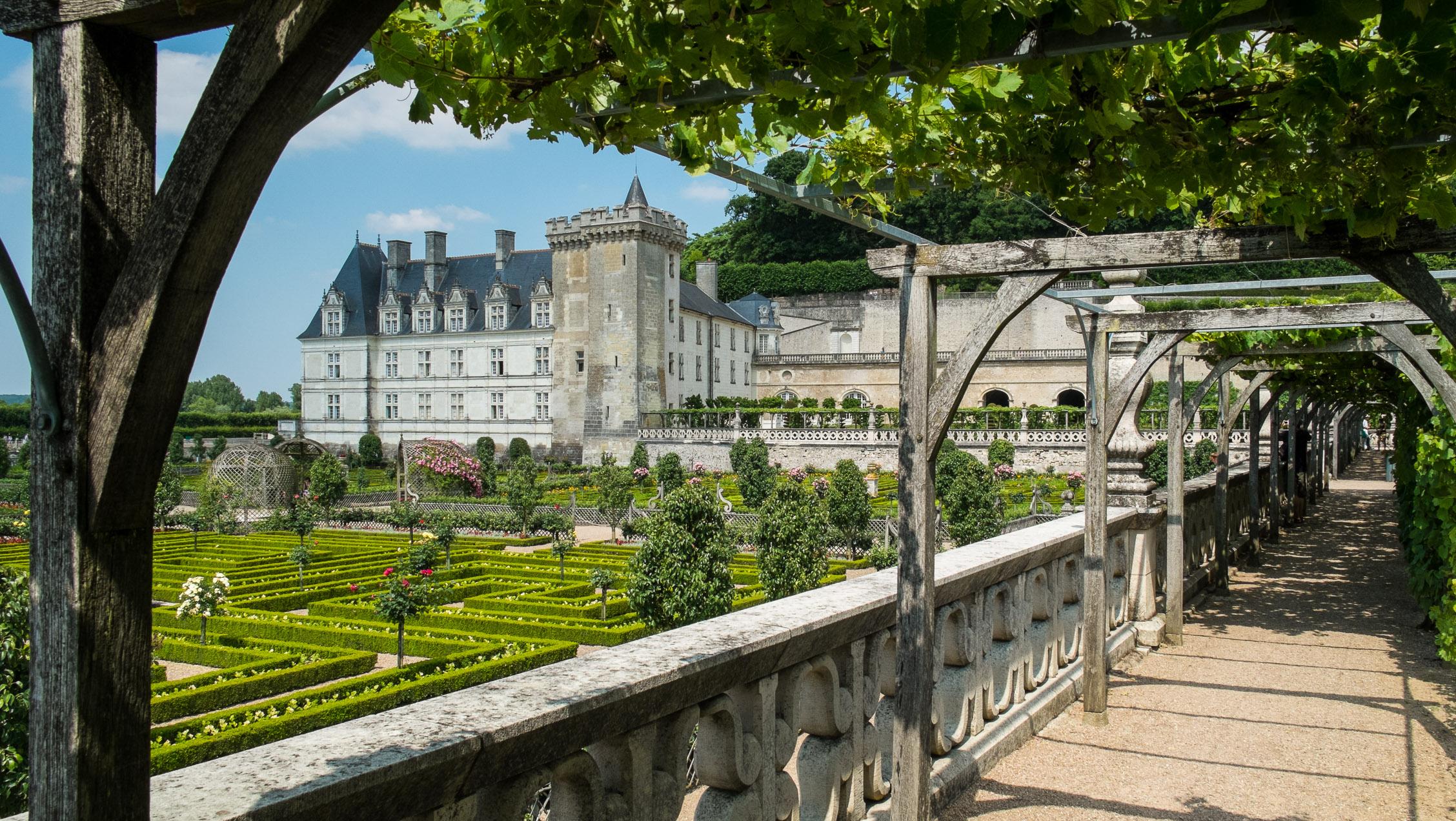 Frankreich Loire Château de Villandry
