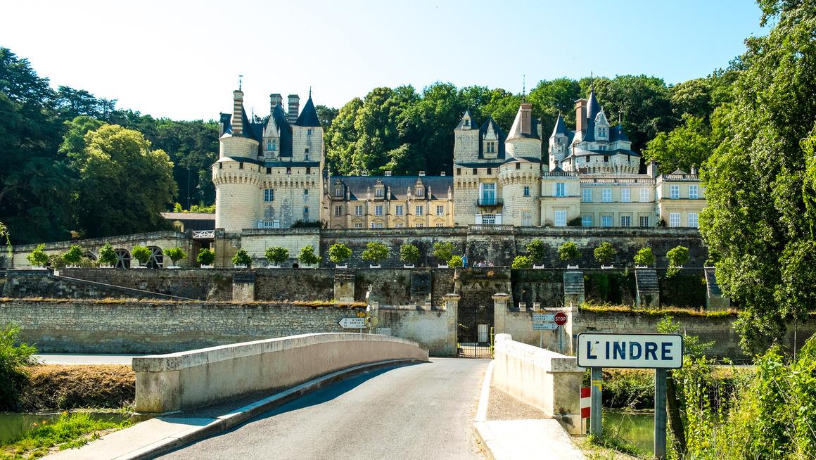 Frankreich Loire Château d'Ussé