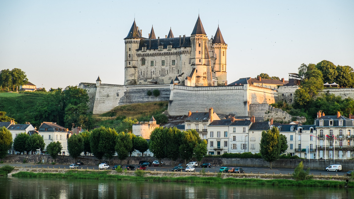 Frankreich Loire Château de Saumur