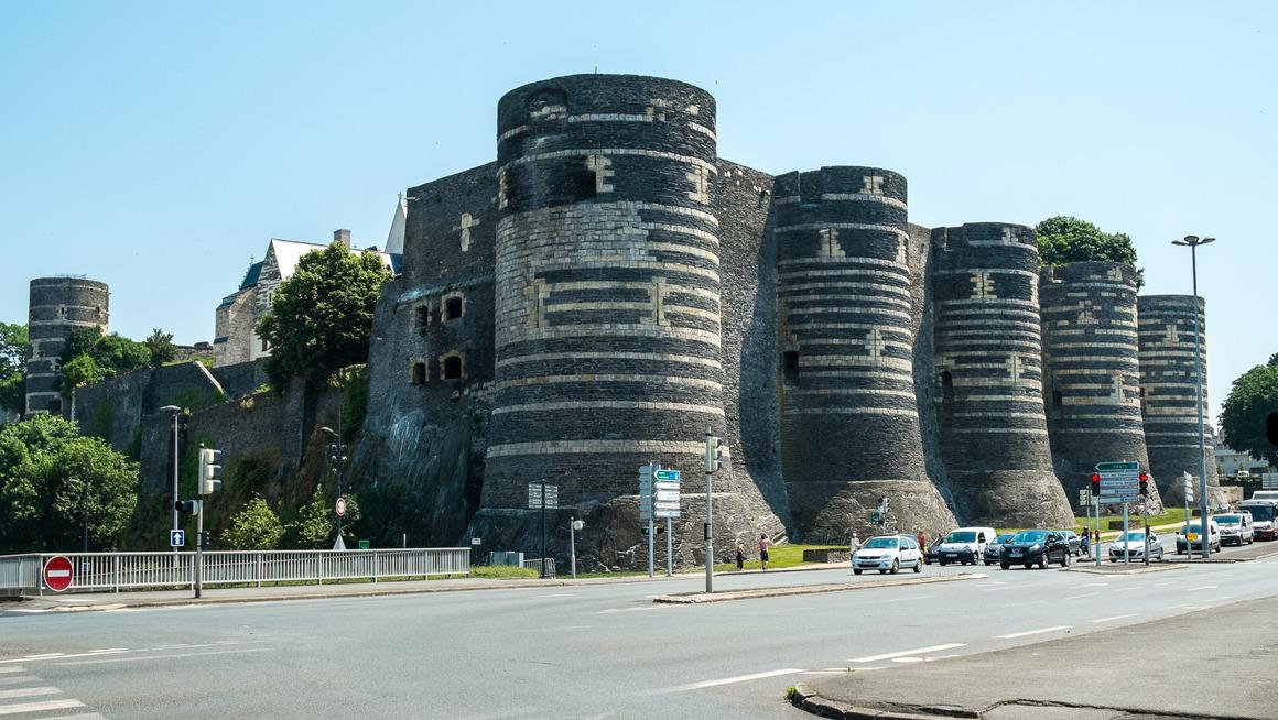 Frankreich Loire Château d'Angers