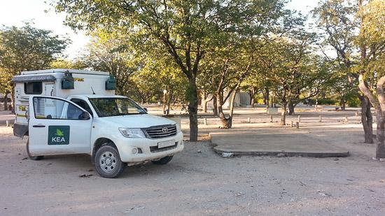 Namibia Etosha Camping