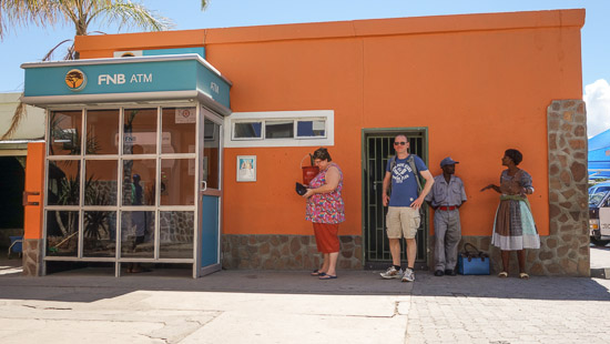 Namibia Geldautomat
