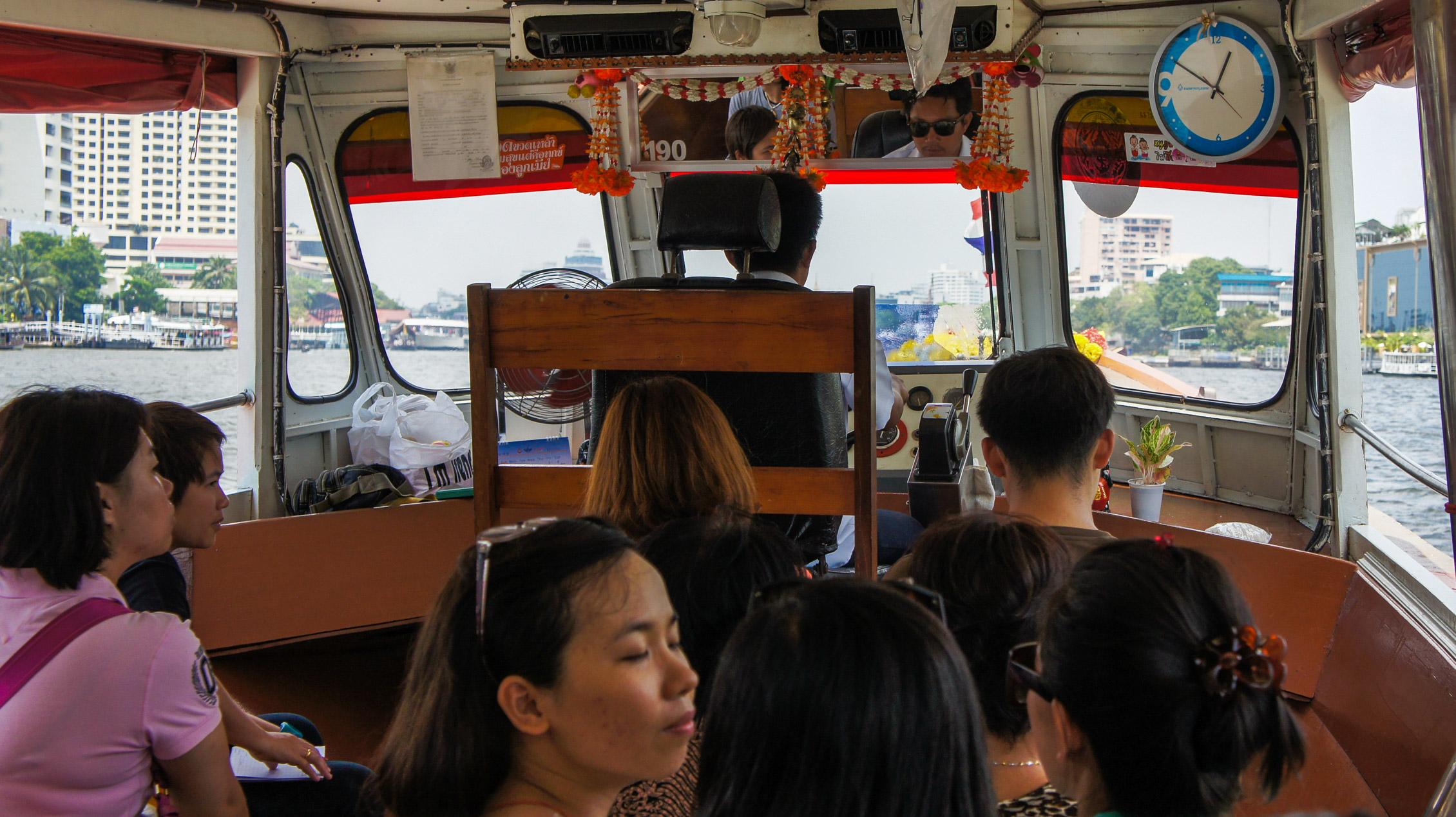 Thailand Bangkok Chao Phraya