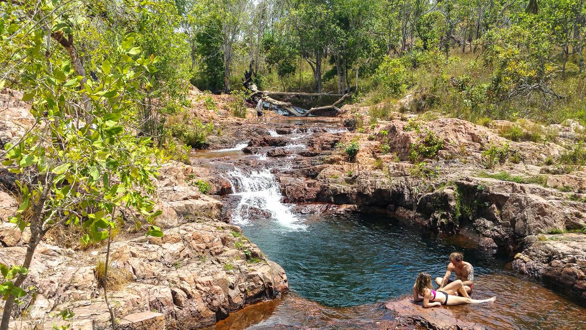 Australien Lichfield Buley Rockhole