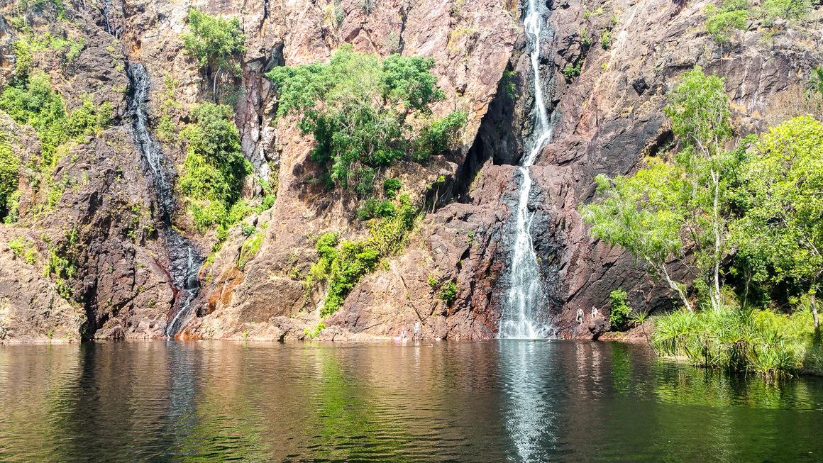 Australien Lichfield Wangi Falls