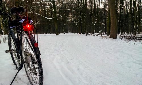 Fetter Schnee macht wenig Spaß, Eis finde ich zu gefährlich. Aber ein paar Tage per Bahn gehen ja auch.